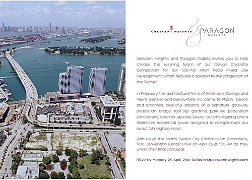 Sobe Park Proposed Development